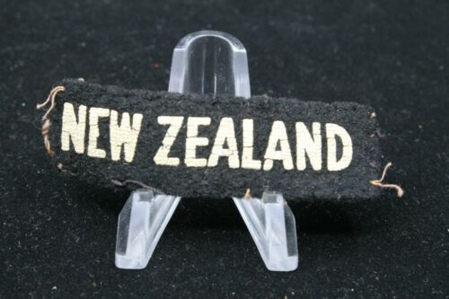 WW2 New Zealand NZ Army Nationality Title Single 2