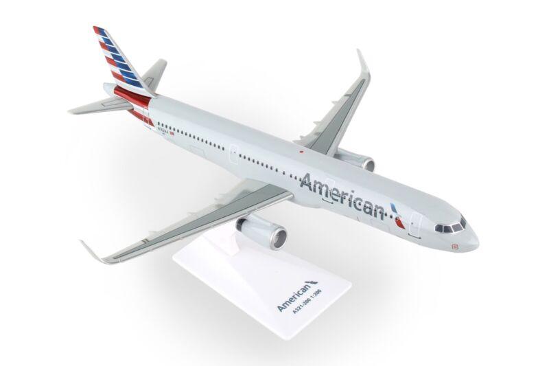 Flight Miniatures LP0629 American Airbus A321-200 1/200 REG#N162AA. New