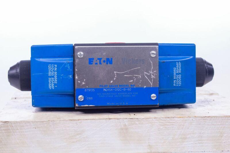 Eaton Vickers Pilot Valve DG4S4-012C-B-60 Directional Control 120V