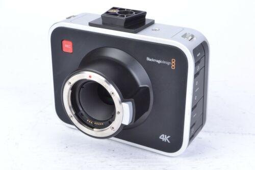 Blackmagic Design 4K Production Cinema Camera Body w/ Canon EF Mount #D70205