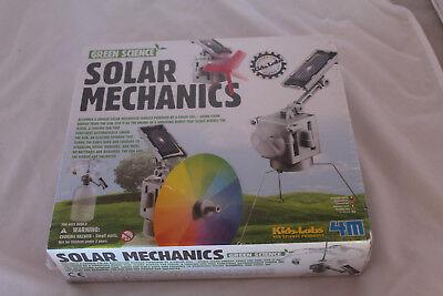 Green Science Solar Mechanics, solar energy experiment kit by 4M