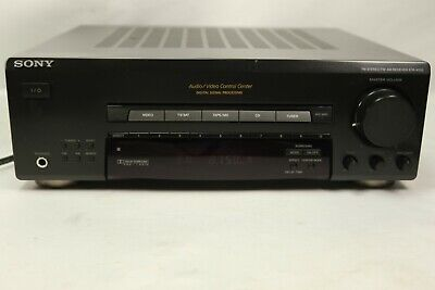 Sony Audio/Video Control Center Am /Fm Receiver Str-V220 Home Theater