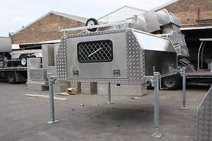Alunimiun Lift Up Canopy & Legs / Toolbox For 8*6 Single Cab Ute Samson Fremantle Area Preview