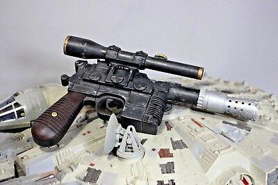 Han Solo Blaster DL-44 rapid prototype Hand Painted Star Wars Cosplay Movie Prop