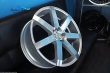 20 INCH PDW GRANGE WHEELS + TYRES SILVER FITS HOLDEN BIG BRAKES Brookvale Manly Area Preview