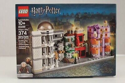 Lego 40289 Harry Potter Diagon Alley Mini Building 374 Pieces New In Sealed Box