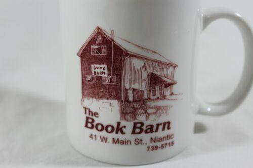 The Book Barn Niantic CT book store coffee mug
