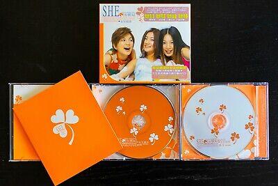 S.H.E - Girlfriend/Girl's Dormitory CD+VCD+Book (Taiwan) - Nusheng Sushe / 女生宿舍