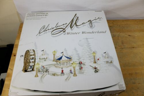 Trendmasters Christmas Magic Winter Wonderland Musical Ice Skating Carnival