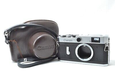 [Near Mint] Canon P 35mm Rangefinder Film Camera Body w/Case from Japan #0423