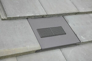 Roof Tile Vent To Fit Redland Stonewold Ii Mk2 Concrete