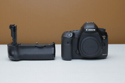 Canon EOS 5D Mark III 22.3MP Digital SLR Camera - 39K Shutter W/ Battery Grip
