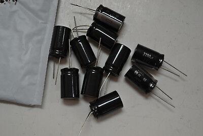 2200uf 25v Capacitors 16x20 Lot Of 10
