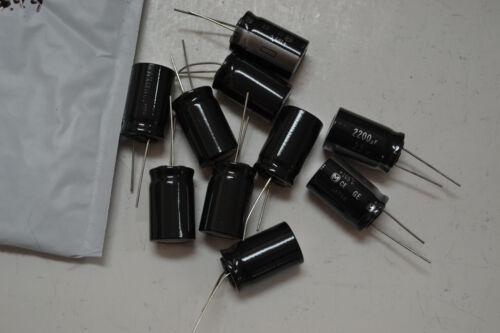 2200uf 25v Capacitors 16x20 Lot of 5