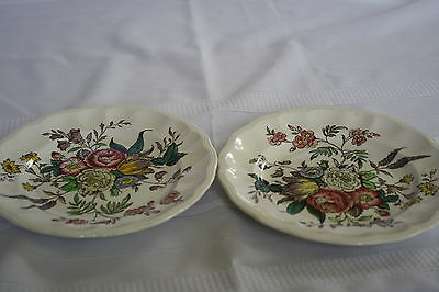 "COPELAND SPODE ""GAINSBOROUGH"" (2) SALAD PLATES 7 3/4"""