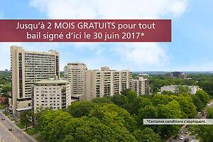 3 1/2 à louer au 830 avenue Ernest-Gagnon (Édifice 4)