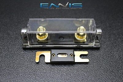 ANL Fuse Holder High Quality 1//0//4//8 Gauge 2 Pack 300 Amp 300A Fuse USA