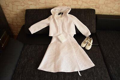 nes Kommunion Outfit ! Schlicht und elegant ! Gr.134 6-tlg!!! (Kommunion-outfit)