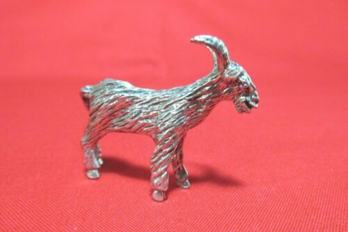 Pewter  Goat Figurine