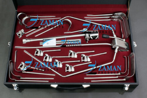 OMNI TRACT Surgical Retractor Set with Wishbone Frame of Surgical Retractors
