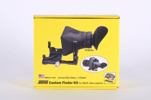 Hoodman Custom Finder Kit for DSLR