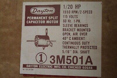 Dayton 3m501 Electric Motor 120hp 1550rpm 115v