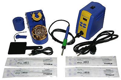 Hakko Fx951-66 Fx-951 Digital Soldering Station Fh200-01 Stand Tip Bundle