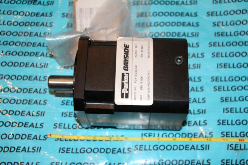 Parker Bayside PG115-030-LB Gearhead Ratio: 30:1 PG115030LB New