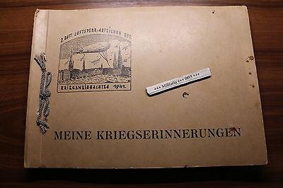 FOTOALBUM 2. BATTERIE   LUFTSPERRABTEILUNG  201 1941 Luftwaffe