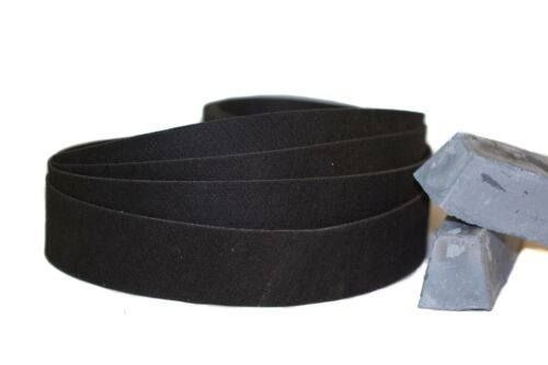"""1""""x 30"""" Sanding Belt Black Felt Polishing Belt"""