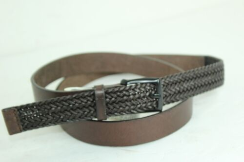 Zara  Belt Size Large 34-39 Browns  Leather  In New Condition B27