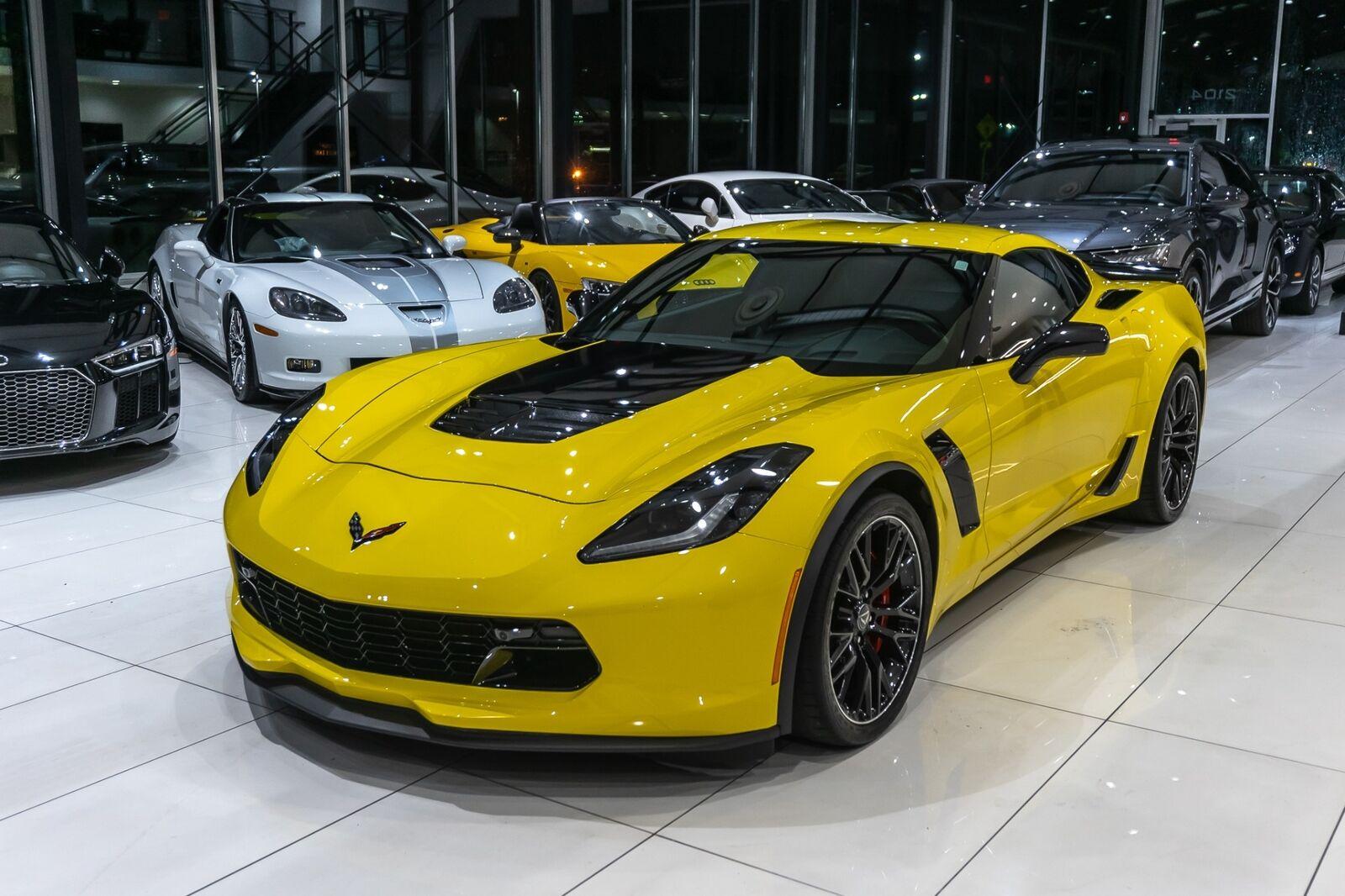 2016 Yellow Chevrolet Corvette Coupe 2LZ   C7 Corvette Photo 9