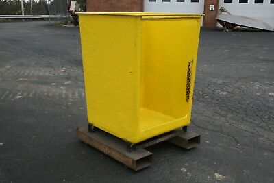 Heavy Duty Forklift Cotterman Safety Work Man Lift Basket Yellow