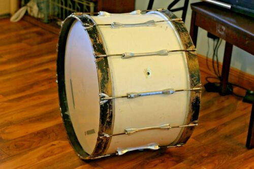 Vintage Ludwig 24x14 Bass Drum Big Marching Band