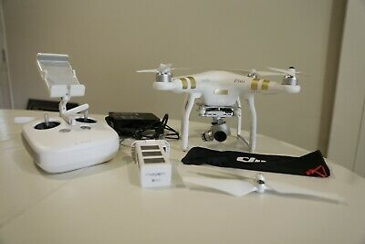 DJI Phantom 3 Master Quadcopter with 4K Camera and 3-Axis Gimbal - White