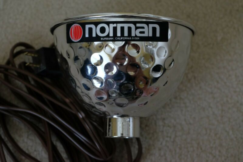 Norman Reflector with Modeling Light 6inch in Diameter X 3.5inch Deep