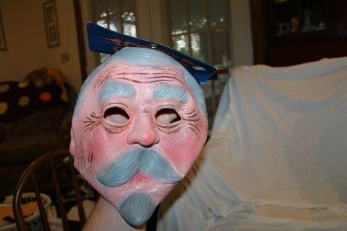 Vintage  NOS Creepy Creatures 1985 Creepy Old Man Mask
