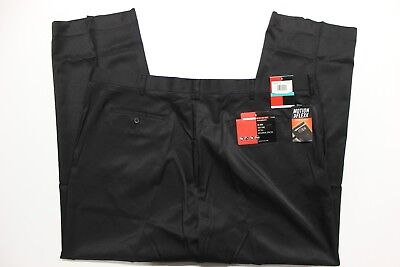 - Men's Big & Tall Grand Slam Ultimate Performance Flat-Front Golf Pants - Black