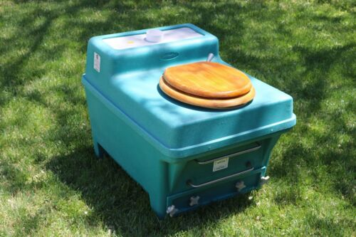 ENVIROLET COMPOSTING TOILET - Basic Plus Waterless Self-Contained - Non-Electric