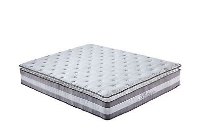 "In vendita High Density 13"" Plush Pillow Top Hybrid Memory Foam & Spring Mattress - Queen"