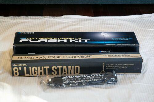 "Westcott 43"" Collapsible Umbrella Flash Kit"