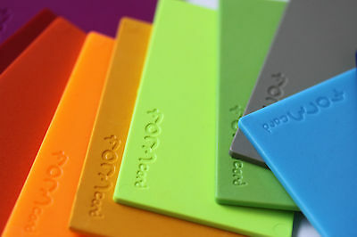 FORMcard™   Handy, Strong Mouldable Bio-Plastic - melt • mould • mend • make
