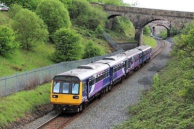 142025+150214 Arriva Rail North 6x4 Quality British Rail Photo