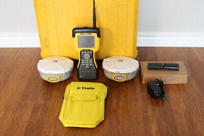 Trimble Dual R8 L1 L2 L2C GPS RTK Base Rover Survey Kit w/ TSC2 2.4GHz SC12.50 comprar usado  Enviando para Brazil