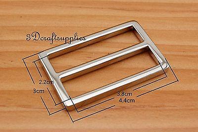 strap adjuster rectangle sliders alloy nickel 38