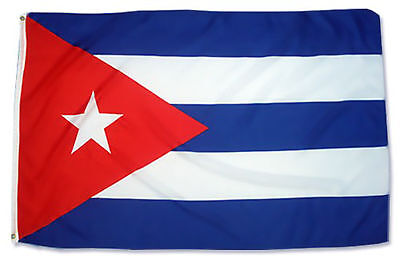 Fahne Cuba  90 x 150 cm cubanische Flagge Kuba kubanisches Banner