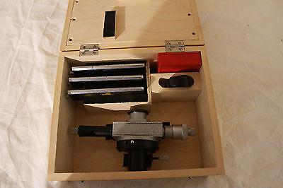 Lomo Microscope Okf-1 Attachment Eyepiece Micrometer Adapter Mikroskop