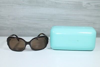 Tiffany & Co Prescription Sunglasses With Case Brown With Circle Logo (Tiffany And Co Prescription Sunglasses)