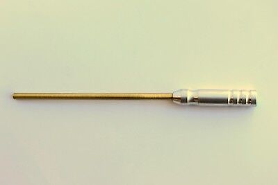 .17 CAL. BRASS PISTOL CLEANING ROD / EMSS7016 / EASTERN MAINE SHOOTING SUPPLIES