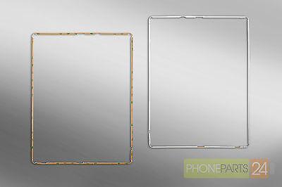 iPad 3 4 Display Mittel Rahmen Gehäuse Middle Frame Housing Cover Bezel Weiss Bezel Frame Cover